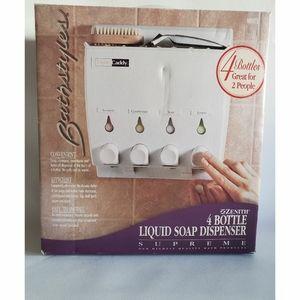 Zeneith 4 mounted wall soap/shampoo dispenser